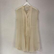 Lee Mathews Womens Dress, Size 3, Silk Sheer Tunic Spring Summer