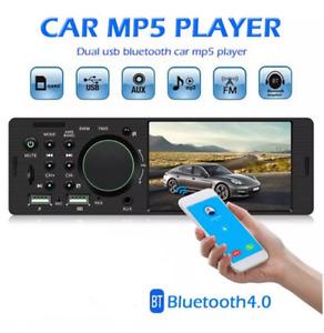 4.1'' Single 1DIN Car Stereo MP5 MP3 Player Head Unit Bluetooth FM Radio USB AUX