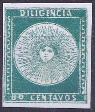 Uruguay 1856 Mi.Nr.2 (+)   Diigencia 80c,  Reproduktion