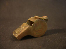 Old Vtg Collectible Brass The Acme Thunderer Military WW1 Whistle England
