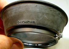 Olympus OM 35-105mm f3.5-4.5 Lens threaded Rubber Hood shade genuine OEM 52mm