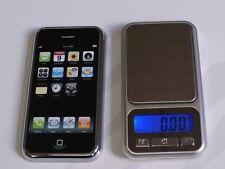 POCKET MINI DIGITAL LED SCALE iPHONE iPOD DESIGN GOLD JEWELLERY - 0.1g - 500g