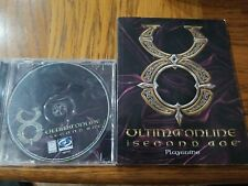 Ultima Online: The Second Age Pc Cd-Rom and Playguide Manual