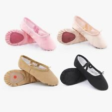 Soft Split Sole Ballet Shoes Canvas Slippers Cotton Lining Footwear Dance Supply