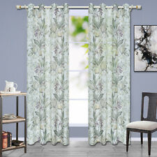 One Panel Floral Tulle Voile Sheer Net Curtains Window Drape Living Room Decor