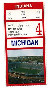 Tom Brady University of Michigan Football Appearance Ticket! RARE! 10885
