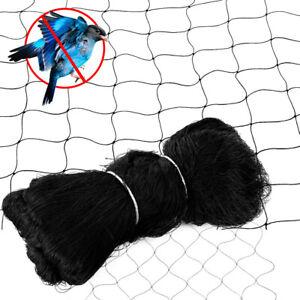 """25'x50' FT Anti Bird Netting 210D Garden Poultry Aviary Game Net Nylon 2"""" Mesh"""