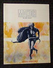 1970's FANTASTIC EXPLOITS #21 SFCA Fanzine FVF John Adkins Richardson MAXOR