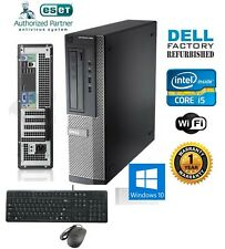 Dell Optiplex 990 Desktop PC i5/i7 4-8-16 Ram HD-SSD Windows 10 HP-Pro Wifi CDRW