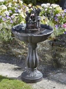 SMART GARDEN TIPPING PAIL WATER FOUNTAIN GARDEN FEATURE ORNAMENT