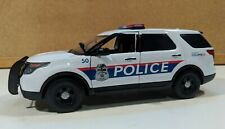 Columbus OH Police Custom 1/24 Scale Motormax Ford Police Interceptor Utility