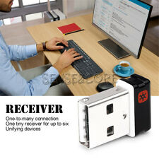 For Logitech Unifying Receiver Dongle 1 to 6 Devices USB Wireless Keyboard Mouse