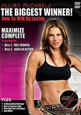 Jillian Michaels: The Biggest Winner - Maximize Complete (DVD, 2-Disc Bo * NEW *