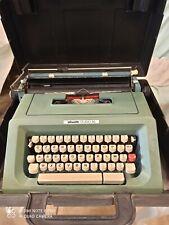 Macchina da scrivere Vintage anni settanta Olivetti studio 46 con custodia