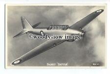 ac0179 - Aircraft - Fairey Battle - postcard