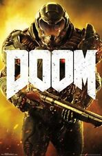 DOOM - MARINE VIDEO GAME POSTER - 22x34 - 14726