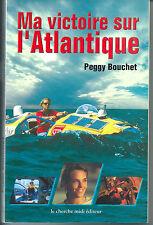 BOUCHET 2000 Ma victoire sur l'Atlantique Paris Cherche Midi aviron mer rowing