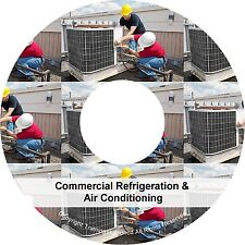 Commercial Refrigeration Air Conditioning Cooling Equipment PDF Manuals on CD