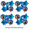 Avengers Birthday Balloons Thor Hulk SpiderMan Captain America Superheroes Party