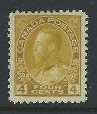 Bigjake: Canada #110, 4 cent King George V