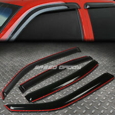FOR 06-10 CHARGER LX 4PC SMOKE TINT WINDOW VISOR/WIND DEFLECTOR VENT RAIN GUARD