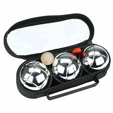 Get & Go Spiel Boule Set III 3 Kugeln Metallkugeln Boulekugeln Petanque Boccia