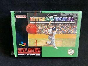 Super Nintendo 64 System SNES N64 | Super International Cricket | Neu & Sealed