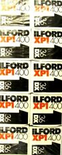 10 Rolls of Ilford XP1  ISO 400  Black and White 35mm Negative 135-36 Roll Film