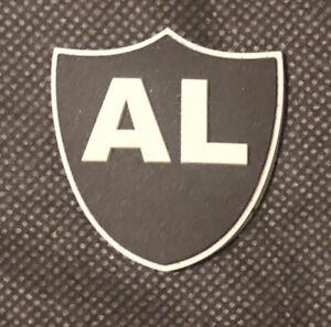 Oakland Raiders AL Davis 3D shield