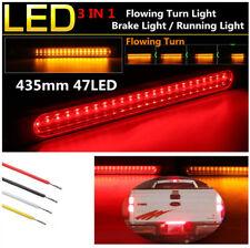 1* Dual Color 48LED Car Trailer Brake Light Bar Flowing Turn Signal Light 12-24V