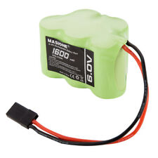 Masione 6V 1600mAh NiMH Side by Side RX Receiver Battery RC Cars Planes Hitec JR