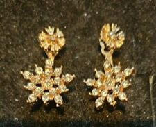 2 IN 1 SNOWFLAKE EARRINGS, CHRISTMAS BIRTHDAY AND MORE
