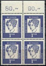 West Germany 1961-4 SG#1275, 1dm Violet Germans Flourescent Paper Block #D88646