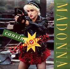 """MADONNA """"Causing a Commotion"""" (45 RPM) 7"""" Vinyl Record w/ Picture Sleeve MINT"""