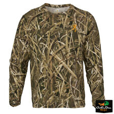 NEW BROWNING WASATCH CB LONG SLEEVE T-SHIRT MOSSY OAK SHADOW GRASS BLADES CAMO