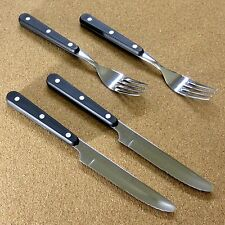 Japanese Kitchen Dinner cutlery Steak Knife & Fork Each 2 Piece Set SEKI JAPAN