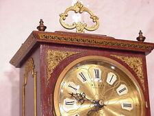 Dutch Weimar vintage mahogany Retro table Mantle shelf Design Clock pendule Art