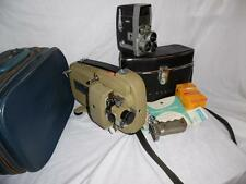 Cased Bell & Howell Director 410 and Sekonic 80P 8mm camera & projector repair