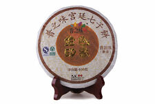 400g cake PuZhiWe ripe puerh puer tea cooked black tea Golden Image Year 2011