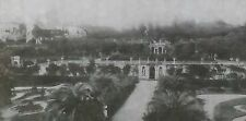 General View, Villa Scassi, Sampierdarena, Italy, Magic Lantern Glass Slide
