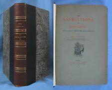 Les NAVIGATIONS de PANTAGRUEL / Abel LEFRANC / É.O. Henri Leclerc 1904 / RARE