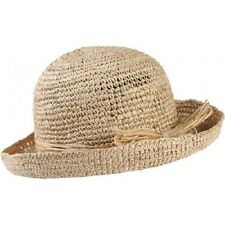 Trekmates Women's Raffia Straw Packable Travel Sun Hat - One Size
