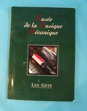 Livre Musée de la Musique Mécanique les Gets Régionalisme Orgue Piano