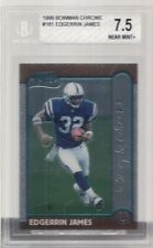 1999 BOWMAN CHROME # 161 EDGERRIN JAMES ROOKIE BGS 7.5