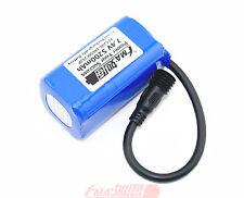 8.4V 1A Charger and Sanyo 18650 7.4V 5200mAh Li-ion Battery w/PCM Inside USB