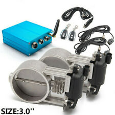 """3"""" Dual Exhaust Valve with Electric Control Box for Exhaust Catback Downpipe"""