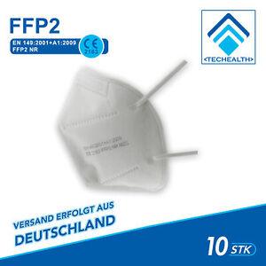 20 Stück FFP2 Maske CE Zertifiziert Mundschutz Atemschutz Staubmaske