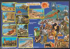 Spain Postcard - Views of Mallorca  RR719