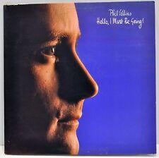 "PHIL COLLINS  ""Hello, I Must Be Going""  1982 Vinyl LP  Atlantic 80035-1  NM"