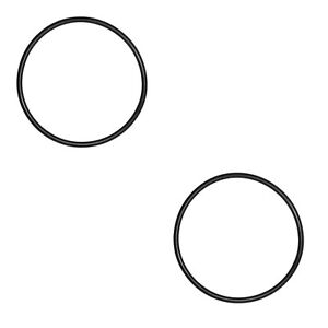 """Pack of 2 BS442 Nitrile NBR Rubber O Ring 7.25"""" ID x 0.275"""" Cross Section"""